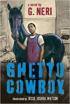 Picture of Ghetto Cowboy book cover.